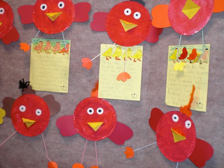 Little Red Hen craft