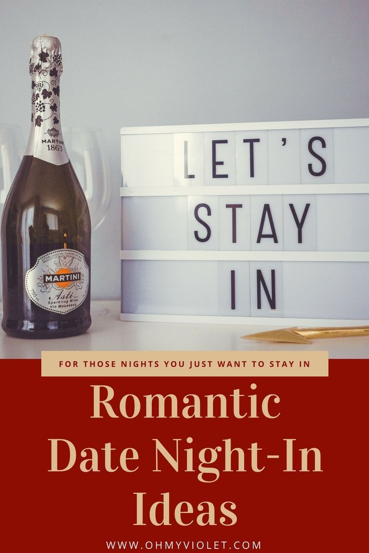 Ideas For Having A Romantic Night In For Valentine S Day Or Any Night That You Want Some Alone Time Date Night Romantic Night Night