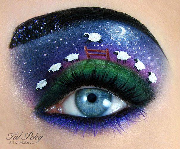 Amazing Eye-Makeup Illustrations by Tal Peleg 12