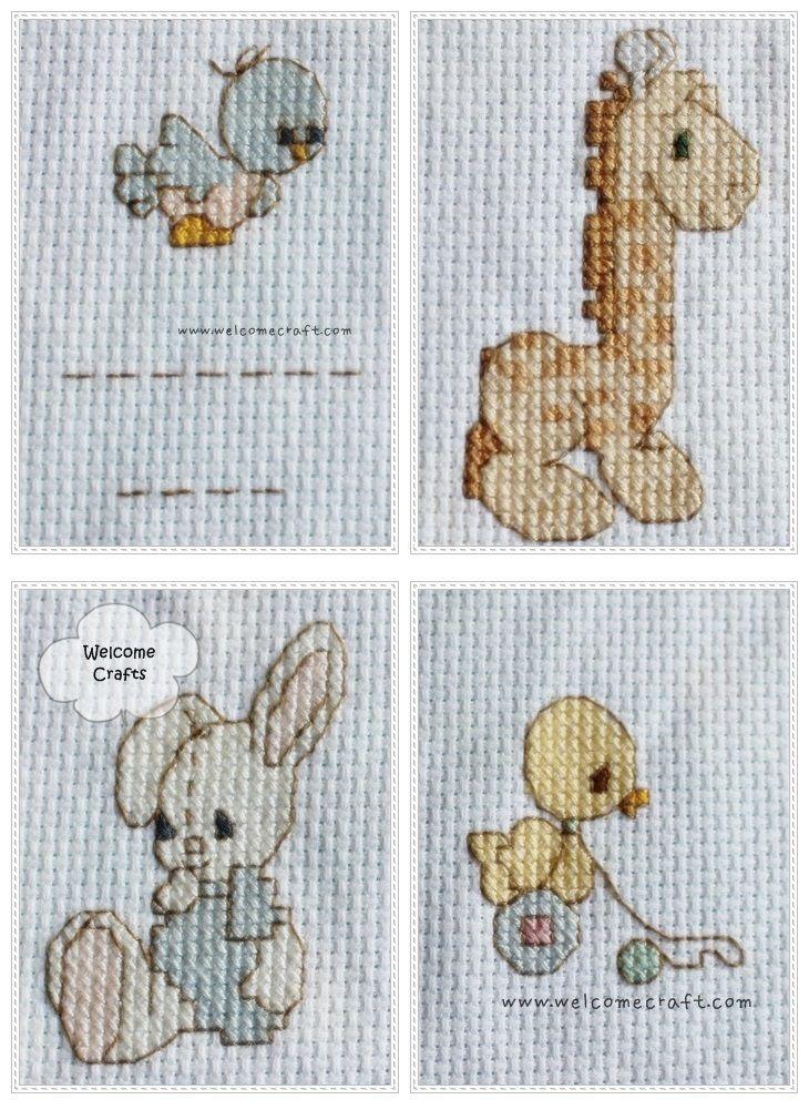 crossstitch | Cross Stitch Cute Animals Patterns