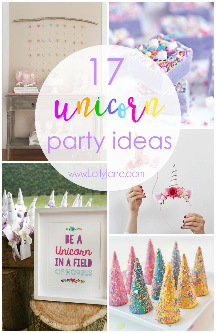 Perfect for a birthday party, end of school party, or a just because party, we have tons of unicorn party ideas to throw the ultimate unicorn party. Unicorns are all the rage right now and for good reason. Funcolors, tasty treats, and of course, unicorns. Horn headbands, all the rainbow treats, unicorn games, unicorn decor …