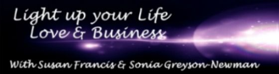 Ladies - Do you have a business that lights you up but you find it hard to put the time and energy needed into making it flourish because you are trying to do and be everything to to everyone? Join Sonia Greyson-Newman and myself this Wednesday for our Free Preview Call at 8:00 pm http://www.susanfrancis.co.uk/lifelovebusinessevent.html
