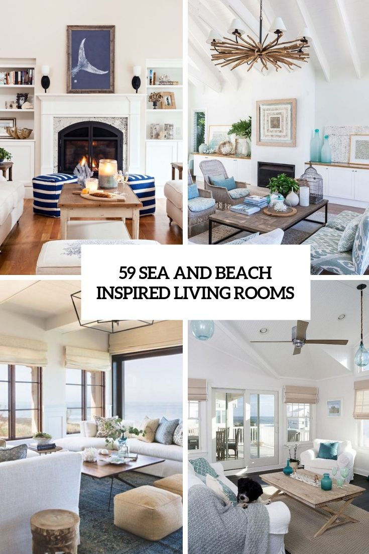 Sea And Beach Inspired Living Rooms Cover In 2020 Beach Decor Living Room Beachy Living Room Beach Theme Living Room #sea #themed #living #room