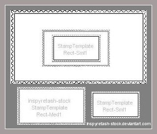 Best Stamp Template Research Images On   Stamping