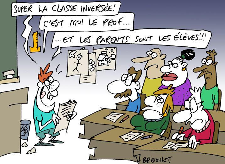 La classe inversée...