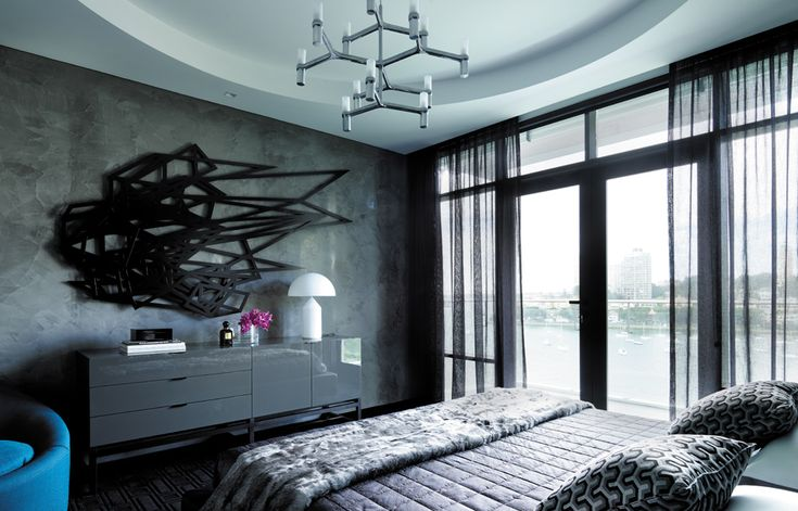 Brooding bachelor pad: The Elizabeth Bay Apartment, by Greg Natale
