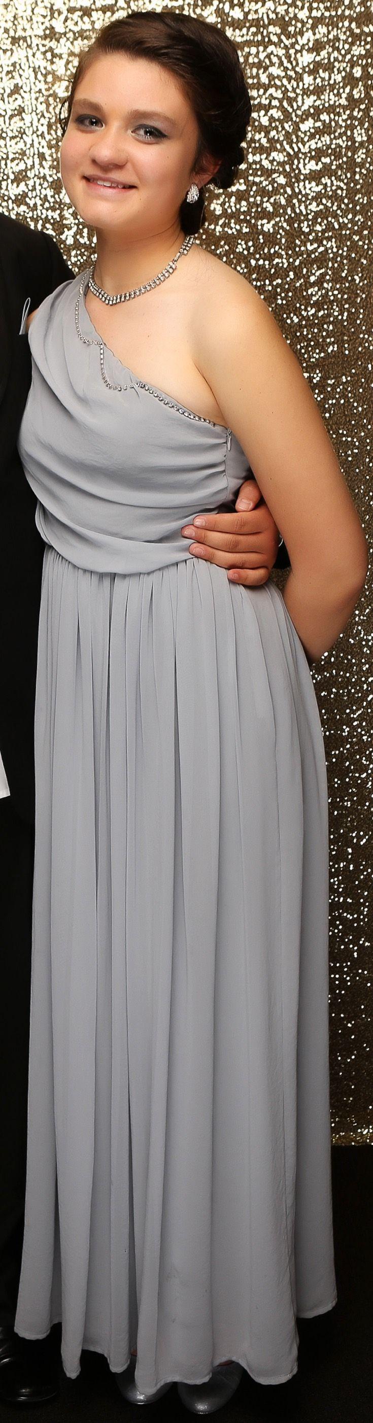 Henderson Ball 2015. Gorgeous in grey! www.whitedoor.co.nz
