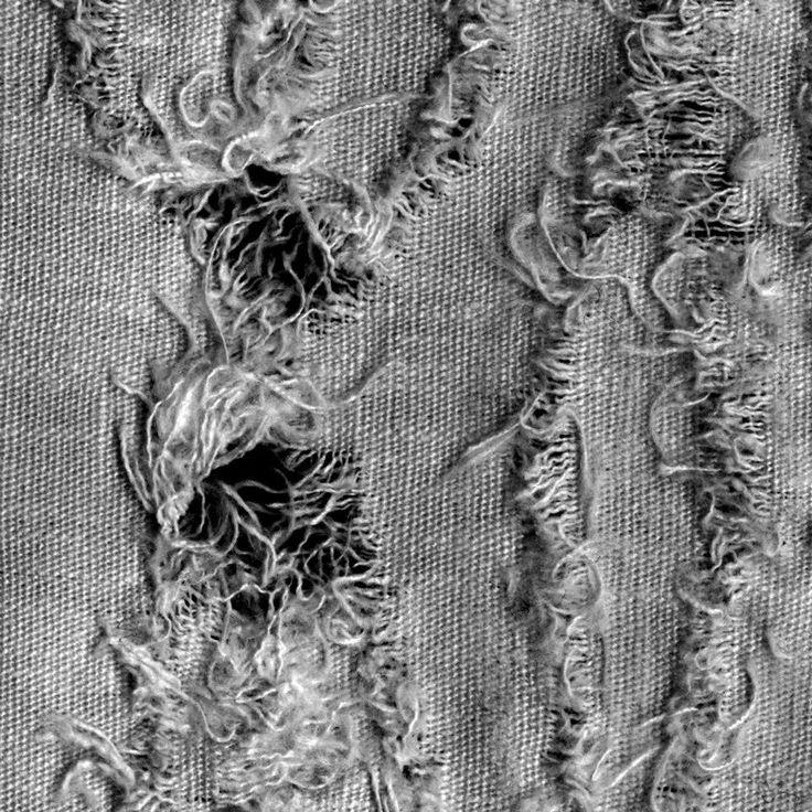 Distressed Fabric Close up
