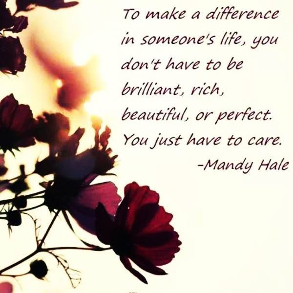 Make A Difference In Someone's Life