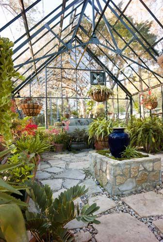 Greenhouse interior - The Cape Cod - http://garden-greenhouse.se/
