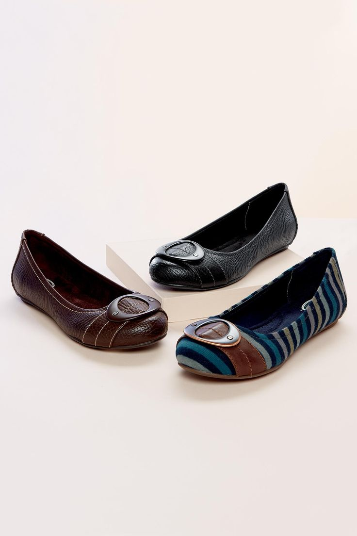 Striped Flats by Dr. Scholl's | Chadwicks of Boston