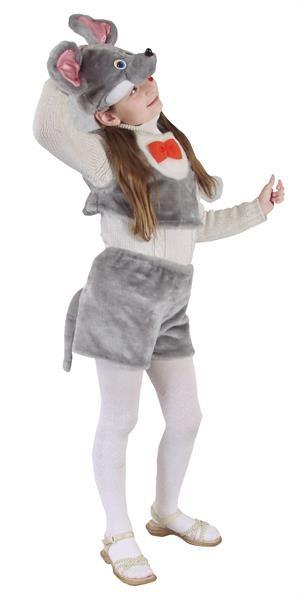 Купить детскимй карнавальный костюм мыши