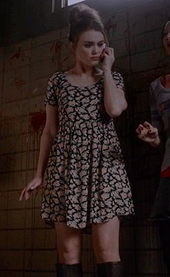 Holland Roden's outfit on teen wolf
