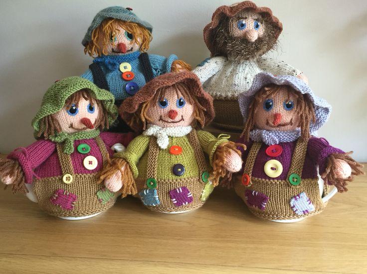 Scarecrow teacosies