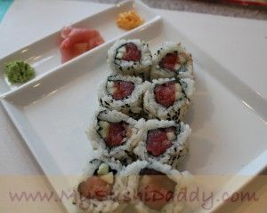 How to Make Spicy Tuna Sushi Roll | My Sushi Daddy