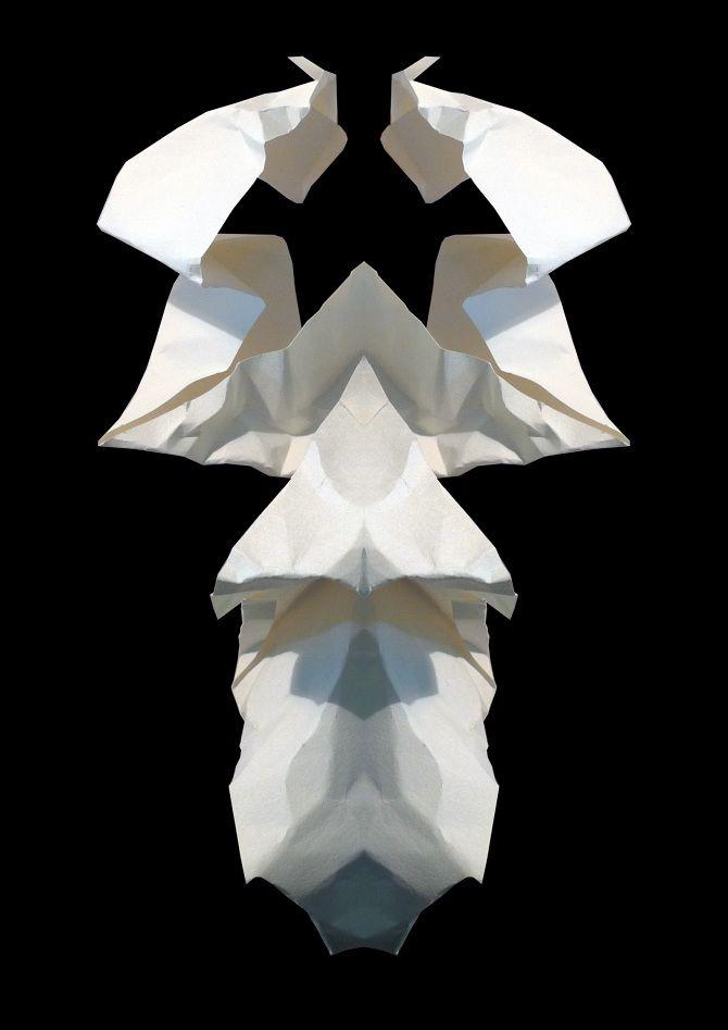 Paperfolds Illustrations by Didde Kallshoej