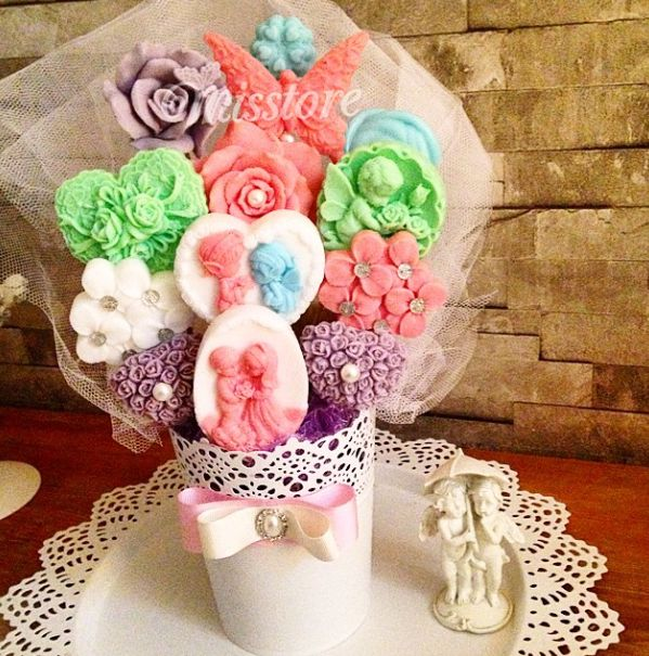 Renkli Sabun Buketi