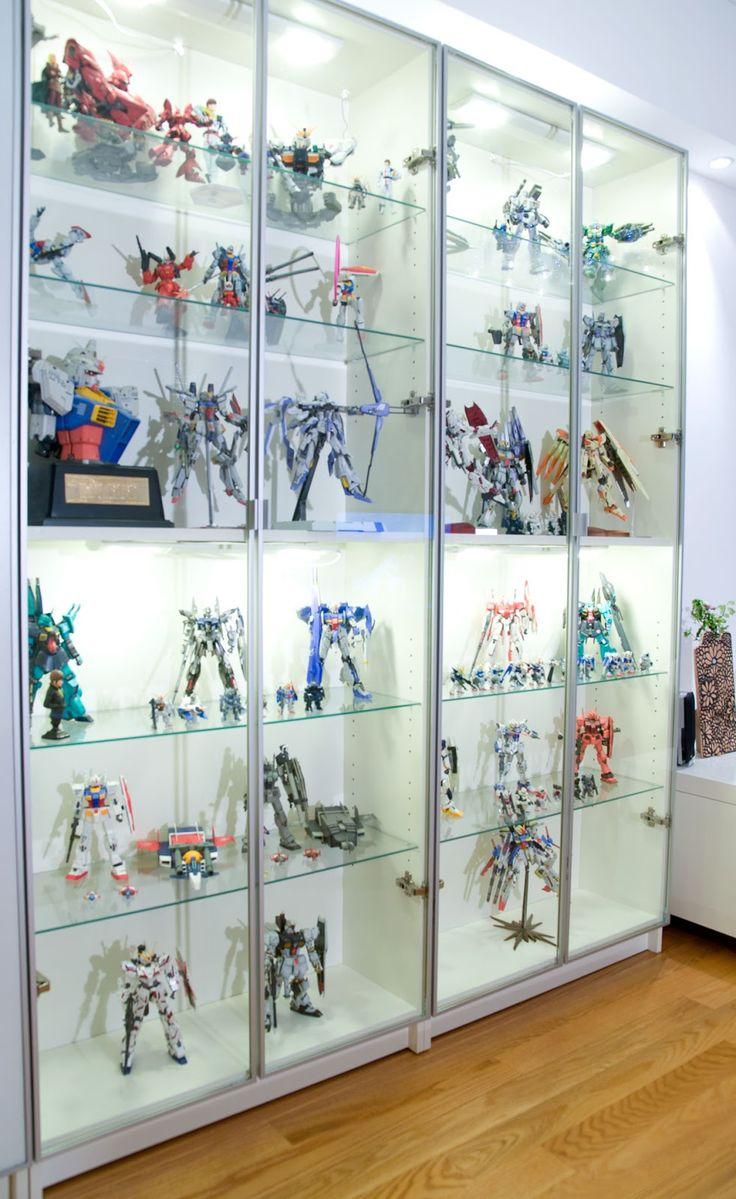 Gundam EFSF Personal Collection Display Setup Home