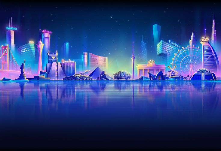 Lobby background for Gambino slots on Behance