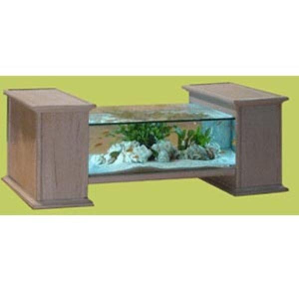 Aquarium Table Diane 120x60x48cm Chêne