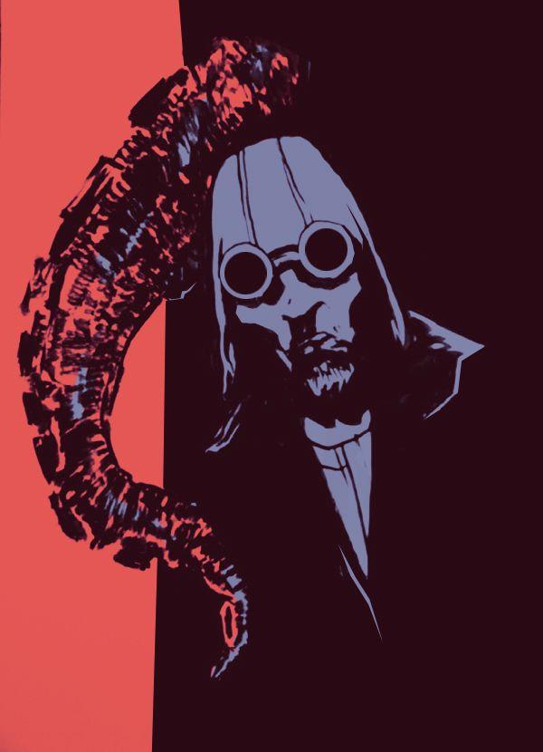 Jay Cans.One - illustration about Ismaele - Akronya Studio - Massoneria Creativa - www.massoneriacreativa.com