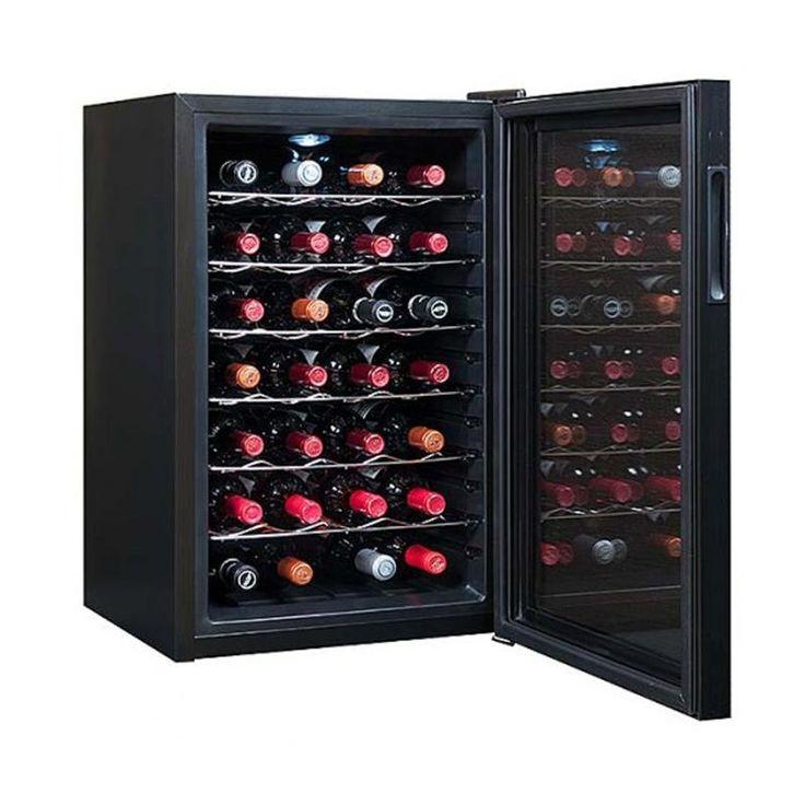 #винный #холодильник #Cavanova CV0028 Цена 39600 рублей   http://shop.webdiz.com.ua/goods/vinnyj-holodilnik-cavanova-cv0028/   Винный шкаф Cavanova CV028 имеет строгий, сдержанный, элегантный дизайн и при этом он очень вместительный — вы сможете собрать и хранить в нем коллекцию из 28 бутылок вина, соблюдая все необходимые климатические условия. Главное, чтобы винный шкаф заботился о вашей коллекции.