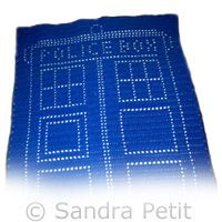 Free - Tardis fillet pattern Crochet Inspiration ?? ...