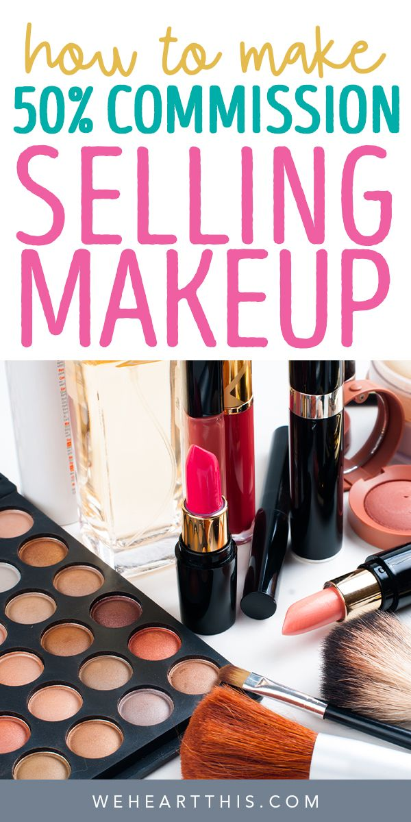 How To Make 50 Commission Selling Makeup At Home Beauty Influencer Wholesale Makeup Makeup At Home