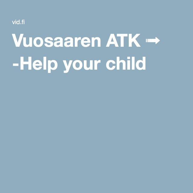 Vuosaaren ATK ➟ -Help your child