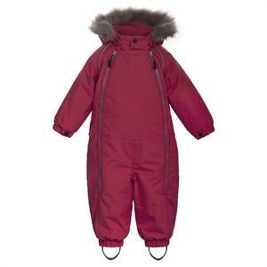 Hindbærrød flyverdragt - Ticket Outdoor Snowbaggie Suit
