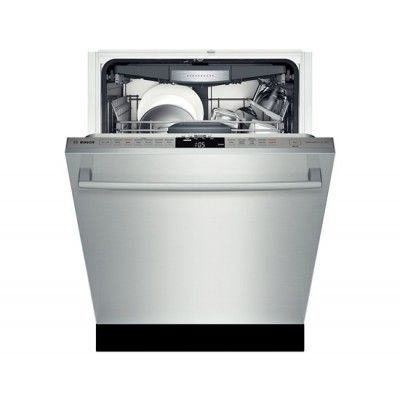 """Bosch SHX7PT55UC Stainless Steel Fully Integrated Dishwashers  23 9/16""""W x 23 3/4"""" D x 33 7/8""""H $1050"""