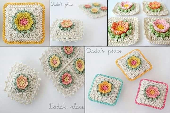 Las mejores +100 imágenes de crochet motif de Fatma Kendir en ...