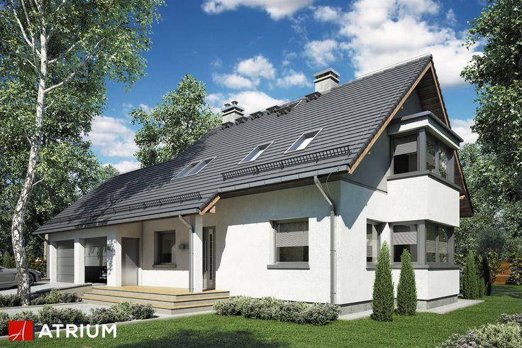 Projekt Kombi Plus - elewacja domu