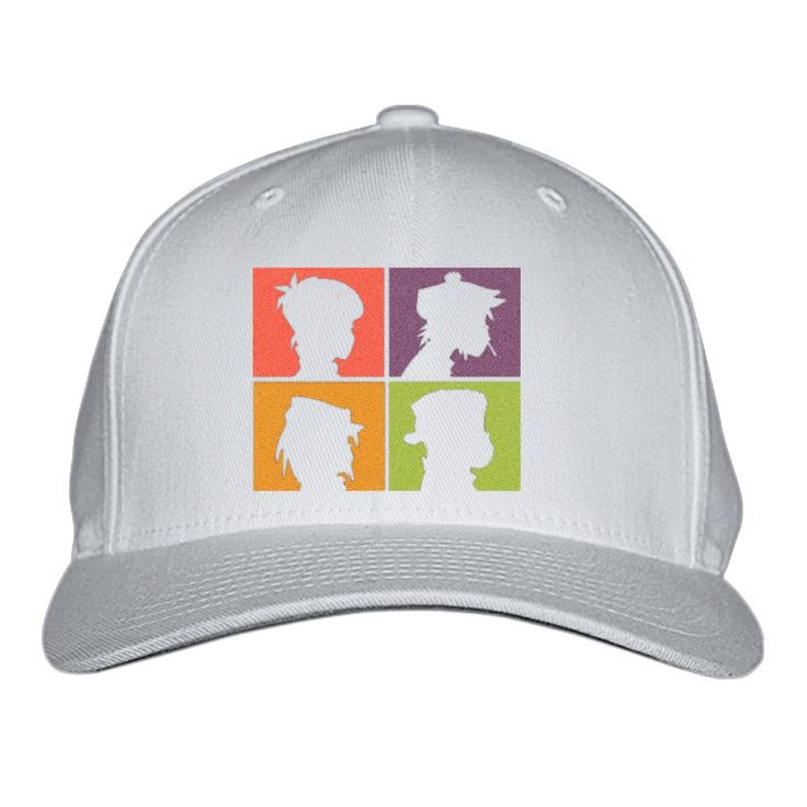 The Gorillaz Embroidered Baseball Cap