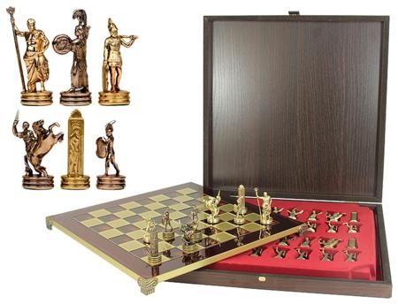 Manopoulos Шахматы греческая мифология  — 15079 руб.  —  Серия: Шахматы Упаковка: Обычная упаковка