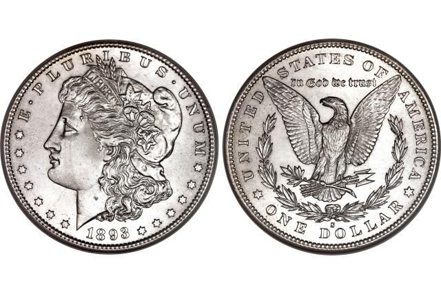 Example of a Morgan Dollar