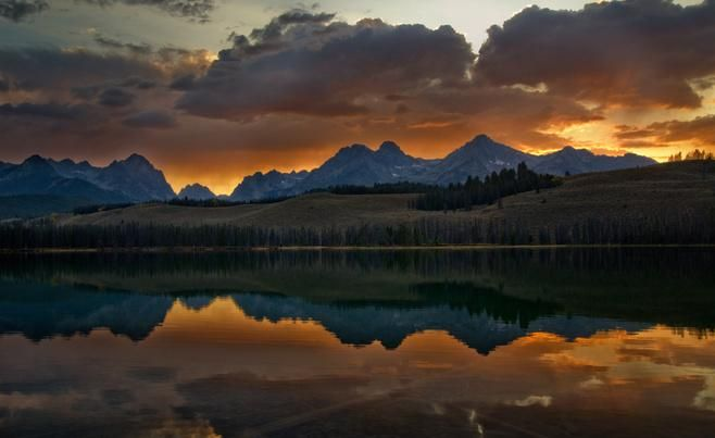 10 best images about red fish lake on pinterest rivers for Best fishing in idaho