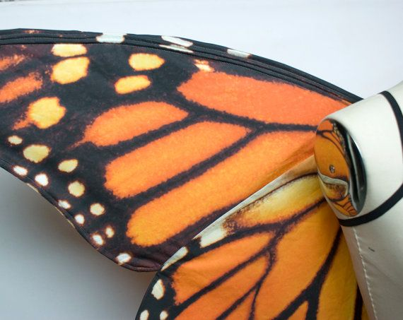 Large Monarch Butterfly Costume Wings for by CraftyAnnesArtistry