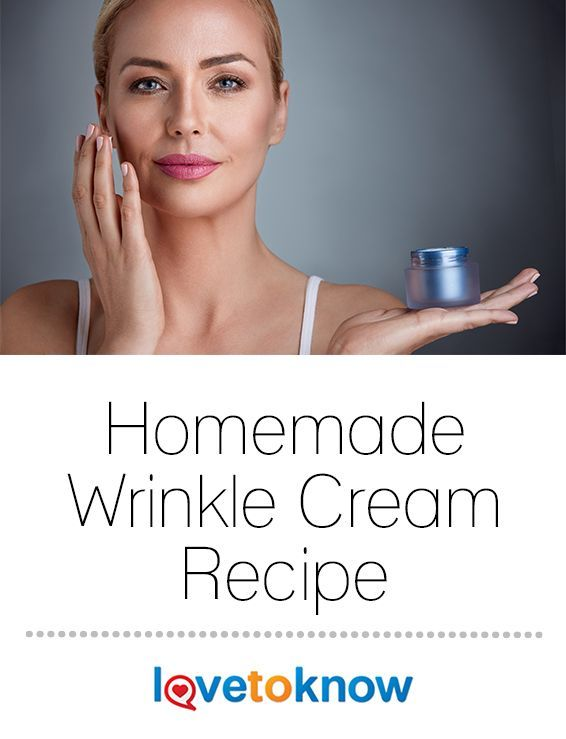 There are a lot of expensive moisturizers available for aging skin and wrinkle reduction, but what about less expensive options? Homemade remedies can be just as effective as many store-bought versions. In-fact, they can be better, because you know exactly what goes into them, and the ingredients are all-natural. | Homemade Wrinkle Cream Recipe from #LoveToKnow