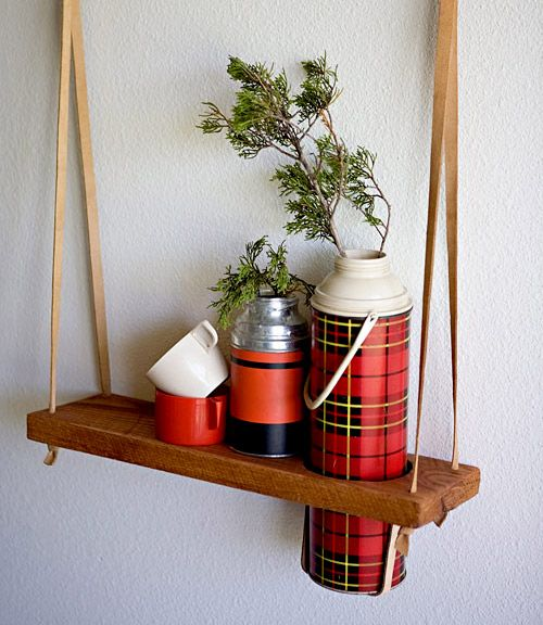 using my old thermos' as vasesKitchens Windows, Hanging Plants, Windows Display, Hanging Shelf, Vintage Thermos, Display Shelf, Display Shelves, Hanging Planters, Diy Projects