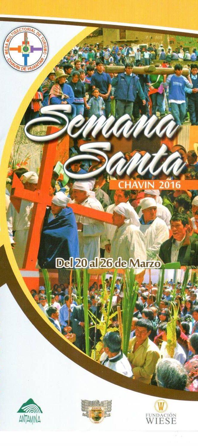 Semana Santa en Chavín