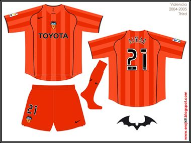 Valencia | third jersey | 2004-05