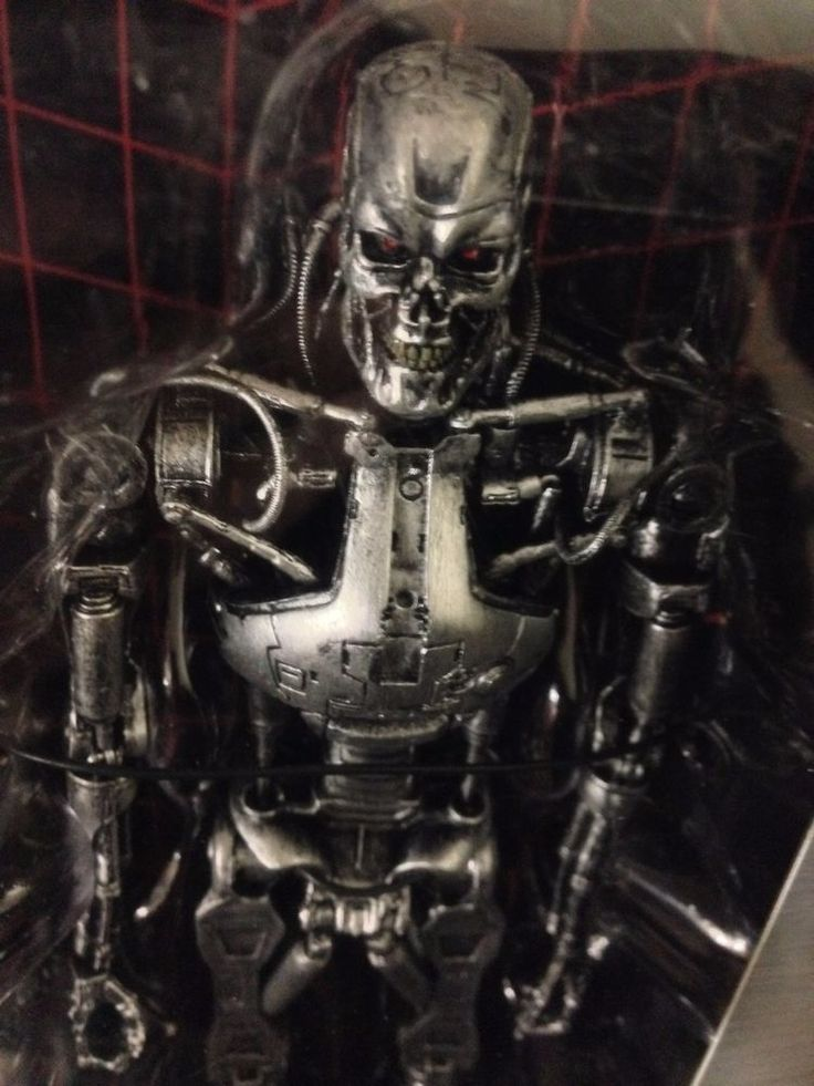 "The Terminator 2 T2 T-800 Endoskeleton 7"" NECA Action Figure T800 T2 Brand New #NECA"