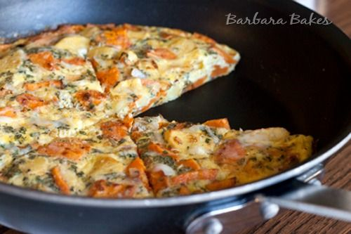 Roasted Vegetable Frittata Recipe | Barbara Bakes #Healthy Recipe