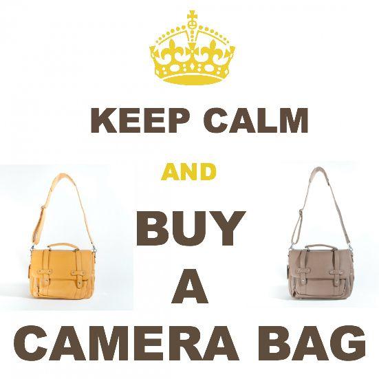 """Dslr Camera Funny Quotes: """"#KeepCalm And Buy A #camerabag!"""" Http://leimomi.com.au/"""