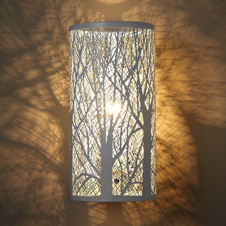 John Lewis Devon Wall Light White Living Room
