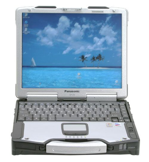 Out in the field or down in the dirt, the durable Panasonic Toughbook 29 is built to take a beating. MIL-STD-810F-tested for ruggedness, this brawny workhorse is encased in magnesium alloy, with durability designed into every seal, hinge and connector. Plus, as the industry's fastest fully-rugged mobile PC, it's built for lightening-quick processing and wireless connectivity.    Communicate in real time from remote areas, access databases online and run sophisticated software applications…