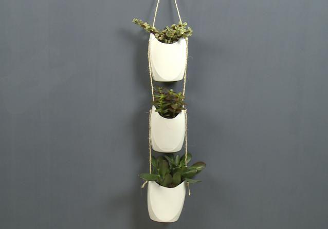 Op een originele manier je plantjes ophangen en ook nog eens je shampooflessen recyclen? Maak van de lege flacons deze plantenhangers. Super leuk en je kan het overal ophangen!