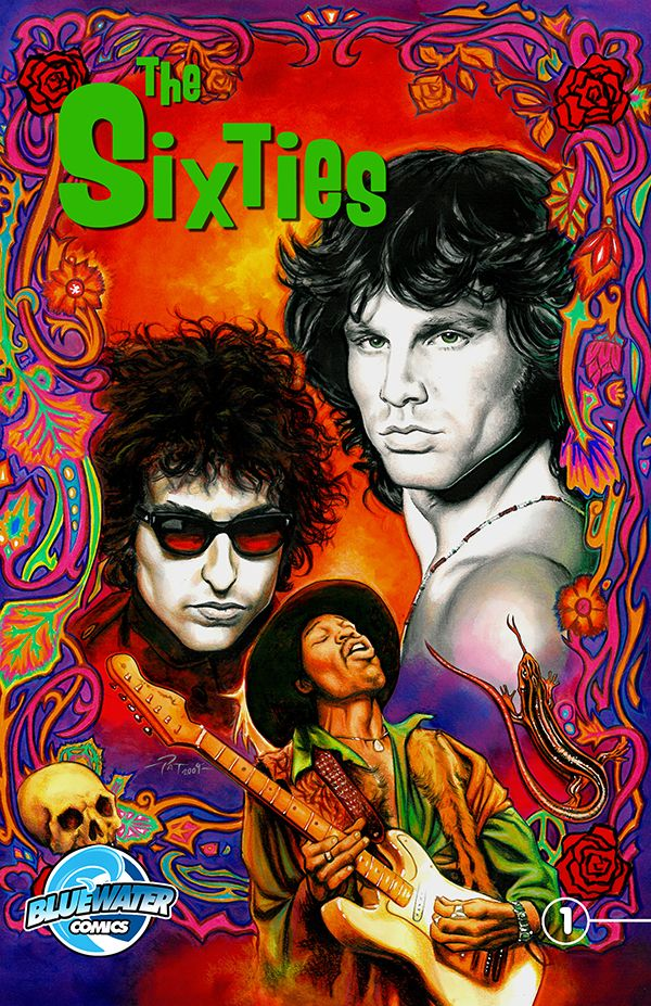 Sixties the comic book: In the 1960s, millions of young men and women were searching for a way to express their deepest desires and fears. And they found that in rock and roll as a host of musicians armed with nothing more than poetic lyrics and electric guitar riffs became the voice of a generation.