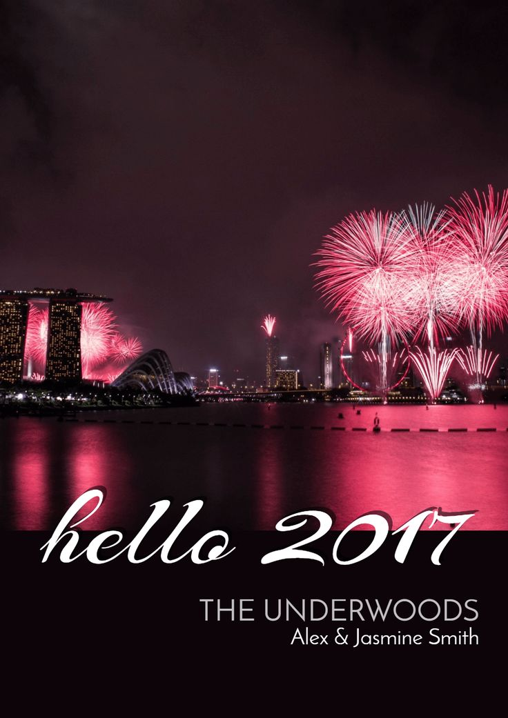 Turn your imagination into stunning Happy New Year posters!
